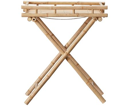Table d'appoint de jardin en bambou Mandisa