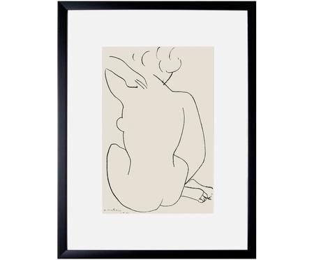 Impresión digital enmarcada Matisse: Nu Accroupi