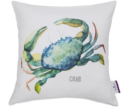 Kissenhülle Crab mit Krabbe in Aquarelloptik