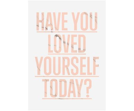 Impression numérique Loved Yourself?