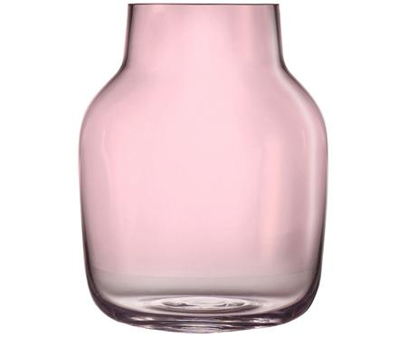 Vase en verre soufflé bouche Silent