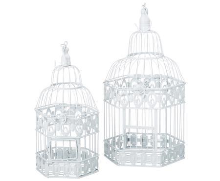 Set gabbie per uccelli da decorazione Gerda, 2 pz.