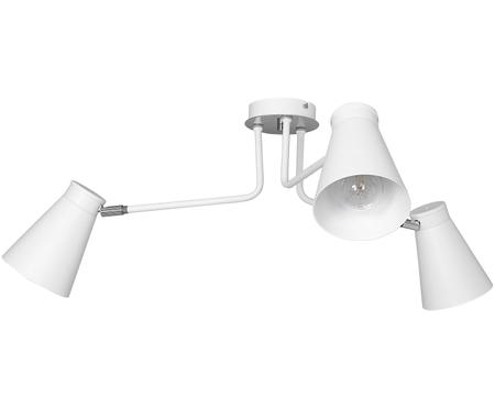 Bílé stropní svítidlo Bevan