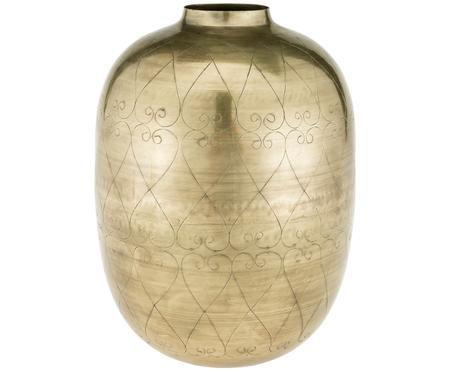 Vase décoratif en métal Toledo