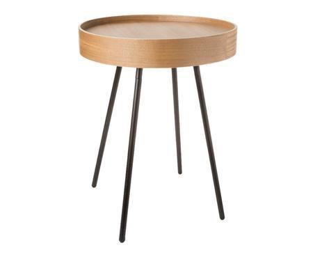 Table d'appoint avec plateau amovible  Oak Tray