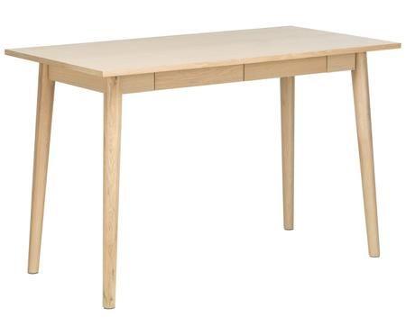 Dubový psací stůl Marte