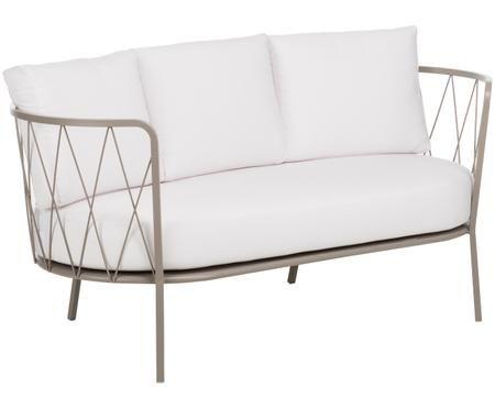 Divano da giardino con cuscino sedia Sunderland (2 posti)