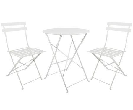 Set tavolo e sedie da giardino Chelsea 3 pz