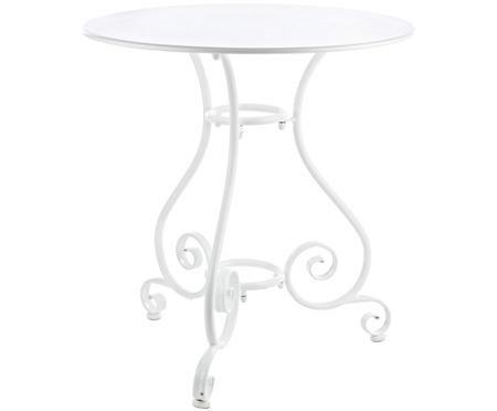 Okrągły stół ogrodowy z metalu Etienne