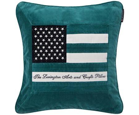 Poszewka na poduszkę z aksamitu Art&Crafts
