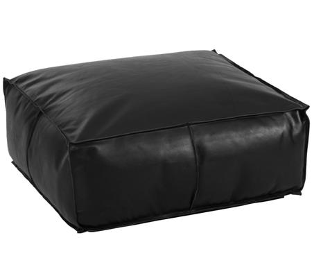 Grand pouf en cuir Arabica