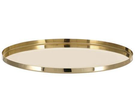 Rundes Deko-Tablett Vilna in Gold