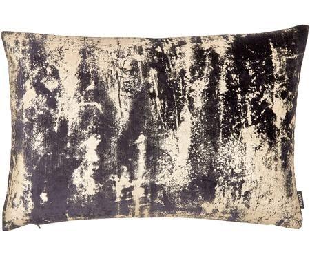 Fluwelen kussenhoes Shiny met glinsterend vintage patroon