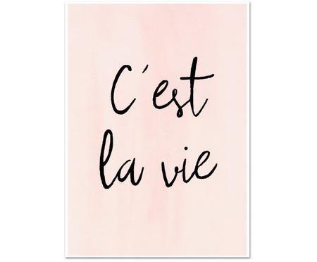 Poster C'est La Vie