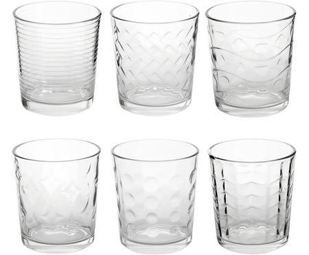 Set di 6 bicchieri acqua Clear