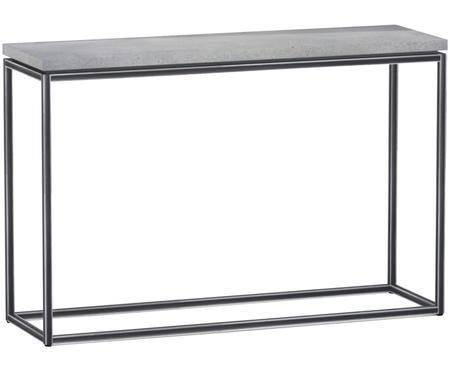 Konzolový stolek slehkou deskou zbetonu Tray