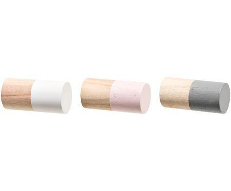 Kleiderhaken-Set Mandi aus Holz, 3-tlg.