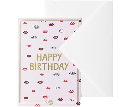 Carte de vœux Happy Birthday