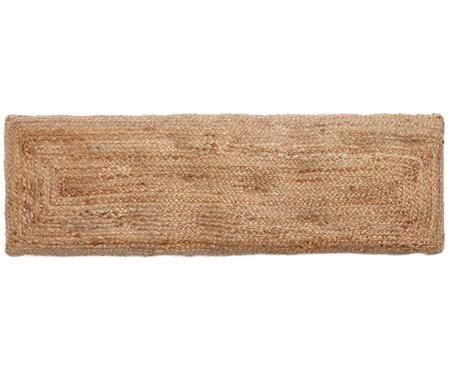 Ręcznie tkana nakładka na ławkę Ural