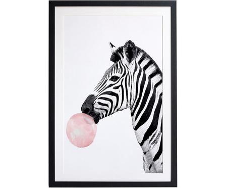 Impresión digital enmarcada Bubble Gum