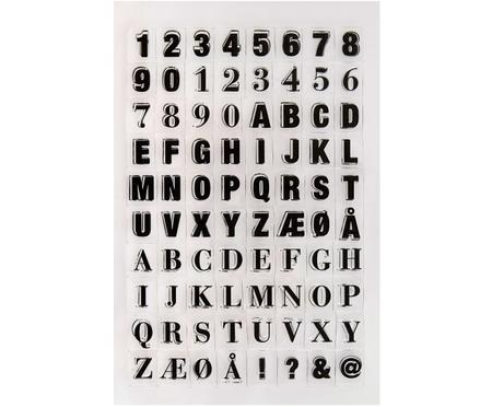 Set timbri Letters & Numbers