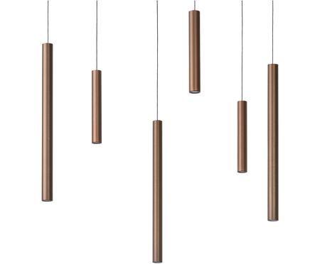 LED Pendelleuchte Lorenz in Kupfer