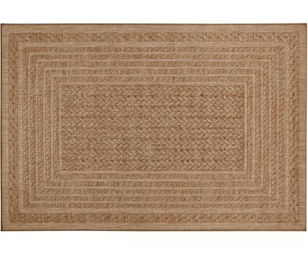 In- und Outdoorteppich Limonero in Jute Optik