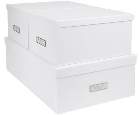 Komplet pudełek do przechowywania Inge, 3 elem.
