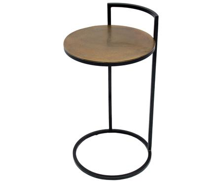 Table d'appoint en métal Circle