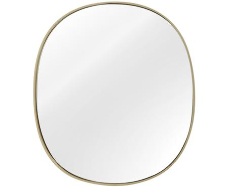 Ovaler Wandspiegel Adria mit Goldrahmen