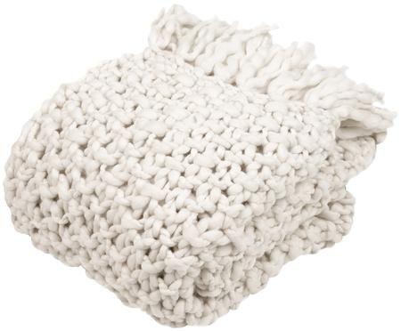 Plaid in cucitura a maglia grossa Liva