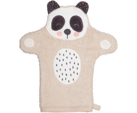 Guanto per il bagnetto in cotone organico Panda Penny