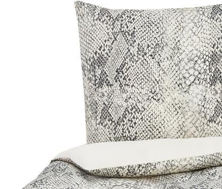Baumwollsatin-Bettwäsche Doutzen mit Schlangenmuster