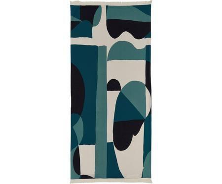 Strandtuch Winwood mit geometrischem Print