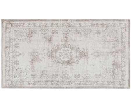 Petit tapis en chenille Medaillon