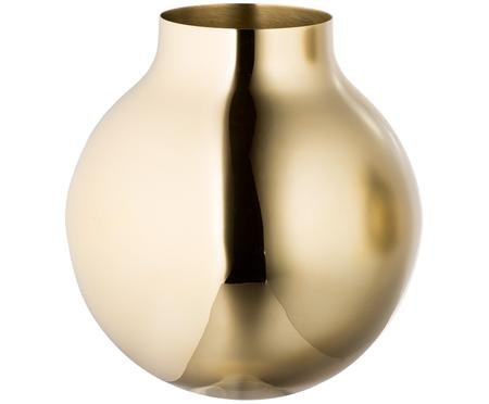 Design-Vase Boule aus Messing