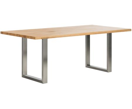 Stół do jadalni  z litego drewna Oliver