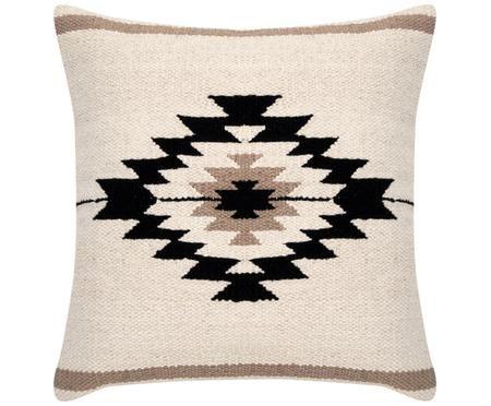 Housse de coussin tissée style ethnique Toluca