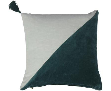 Coussin en velours Shadow