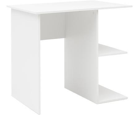 Malý matně bílý psací stůl Milo