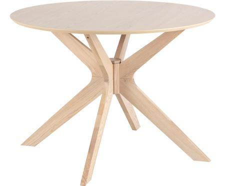 Tavolo da pranzo in legno di quercia Duncan