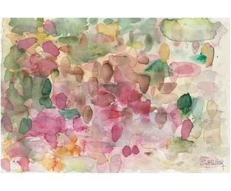 Impresión digital sobre lienzo Petalos