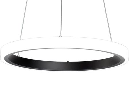 Suspension LED en métal noir Clino