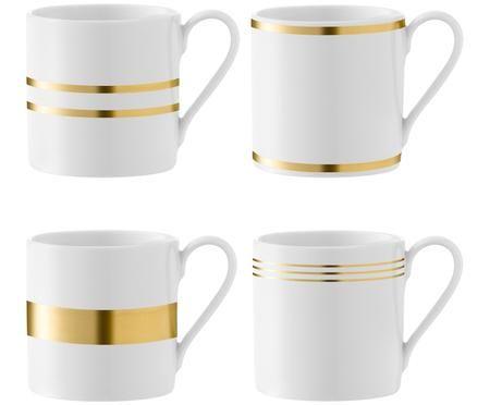 Set tazze da caffè Deco, 4 pz.