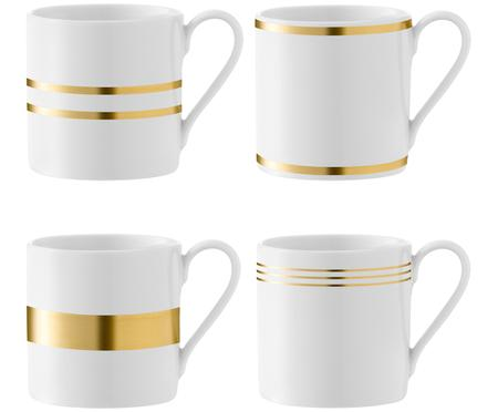Kaffeetassen-Set Deco, 4-tlg.