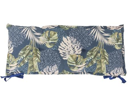 Bankauflage Reva mit tropischem Print