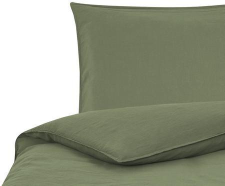 Soft-Washed Leinen-Bettwäsche Carla
