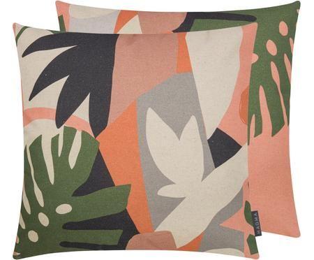 Wendekissenhülle Images mit abstraktem tropischem Print