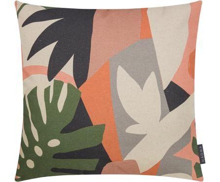 Housse de coussin réversible imprimé tropical Images