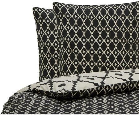 Parure de lit réversible en coton Carnet De Voyage